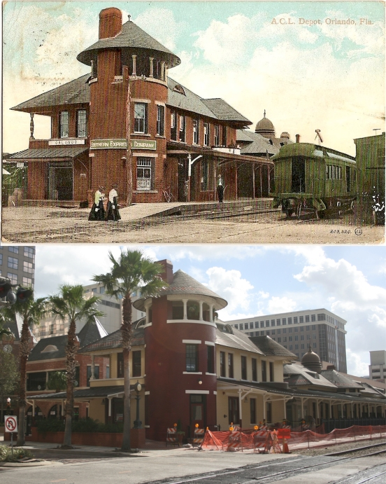 Church Station 1908 and 2031
