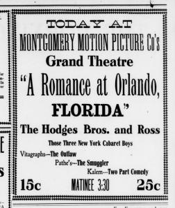"""A Romance at Orlando"""