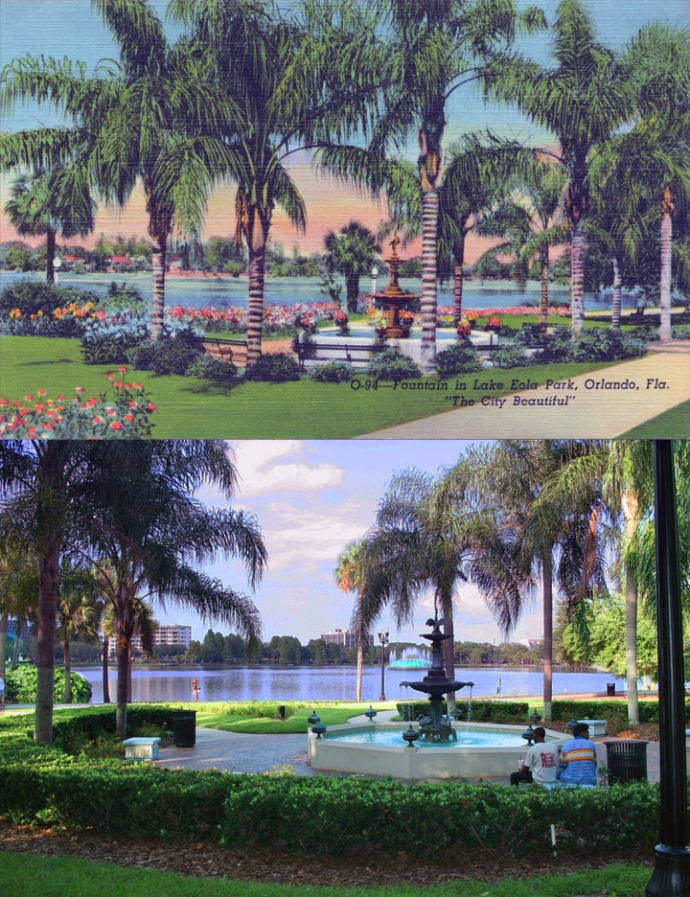 Sperry Fountain 1940's and 2013