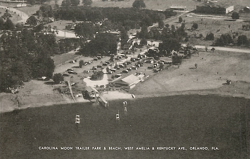 Aerial View Of The Carolina Moon Property