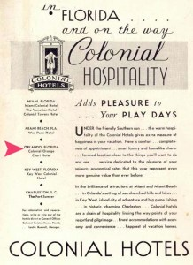 The Orange Court was part of Colonial Hotels